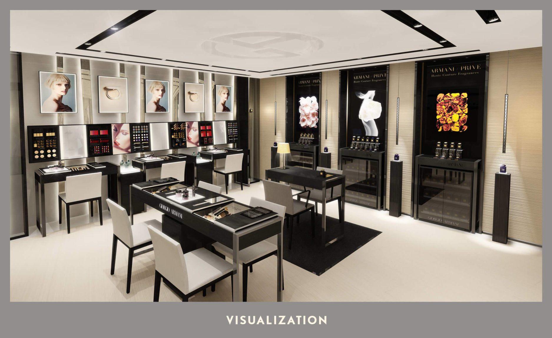Makeup Rooms Design